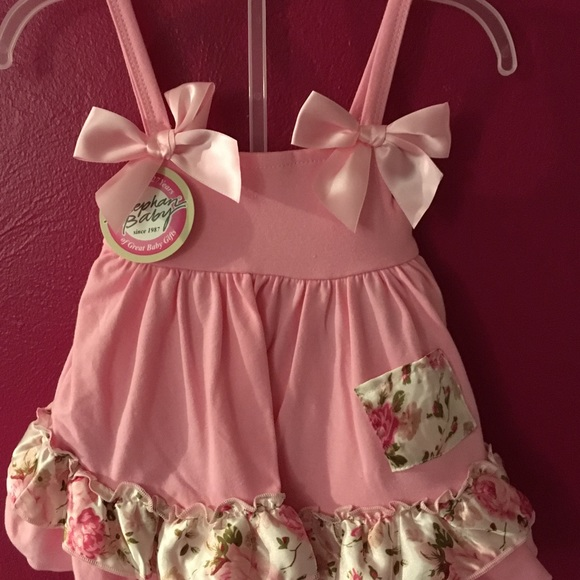 3ef666b45 Bay girl dress with bloomers NWT